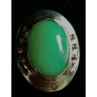 クリソプレ-スのK18釈迦玉付きシルバーリング(リング(指輪))