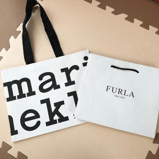 marimekko - 【新品】marimekko&FURLA♡ショップ袋