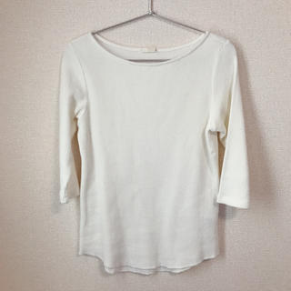 ジーユー(GU)のワッフルシャツ(Tシャツ(長袖/七分))