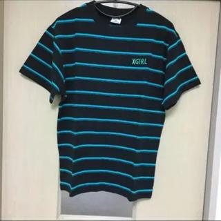 エックスガール(X-girl)の♡X-girl ボーダーTシャツ 2(未使用)♡(Tシャツ(半袖/袖なし))