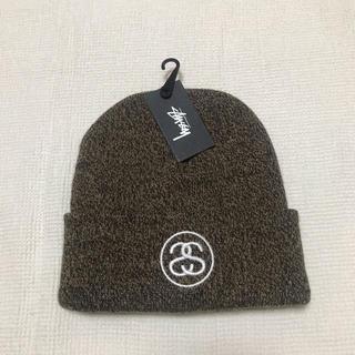 ステューシー(STUSSY)の【STUSSY】ニット帽(ニット帽/ビーニー)