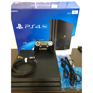 PlayStation4 - ps4 pro 本体 CUH-7100B  1TB