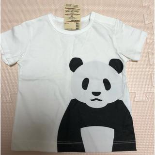 MUJI (無印良品) - 《無印良品》アニマル柄 Tシャツ  80㎝