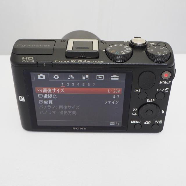 SONY(ソニー)の【良品】SONY DSC-HX60V ブラック[専用] スマホ/家電/カメラのカメラ(コンパクトデジタルカメラ)の商品写真