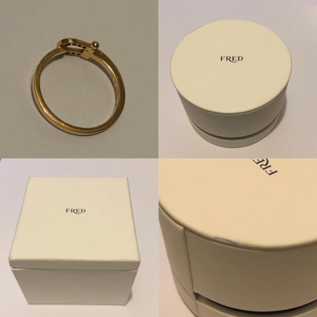 FRED(フレッド)のFRED フレッド フォース10 スモールモデルリング メンズのアクセサリー(リング(指輪))の商品写真