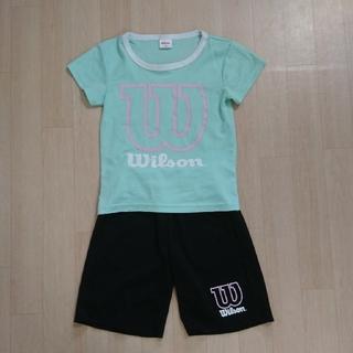 ウィルソン(wilson)のWilson ドライTシャツ ハーフパンツ 上下セット 130(Tシャツ/カットソー)