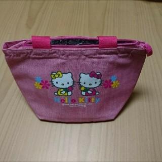ハローキティ - Hello Kitty  ハローキティ  保冷バッグ  ピンク