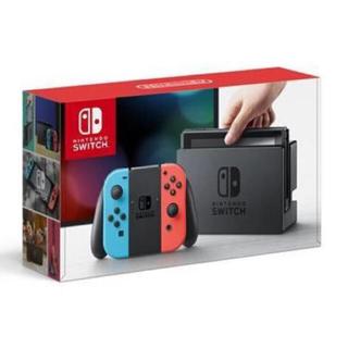 ニンテンドースイッチ(Nintendo Switch)のNintendo Switch ネオンブルー/ネオンレッド 新品(携帯用ゲーム本体)