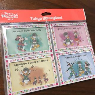 Disney - ディズニーランド ドナルドのホットジャングルサマー メモ帳