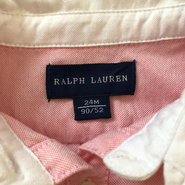 Ralph Lauren(ラルフローレン)のラルフローレン ワンピース 90 キッズ/ベビー/マタニティのキッズ服 女の子用(90cm~)(ワンピース)の商品写真