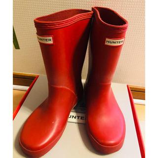ハンター(HUNTER)の川内様専用◆長靴 レインブーツ HUNTER UK12 18㎝(長靴/レインシューズ)