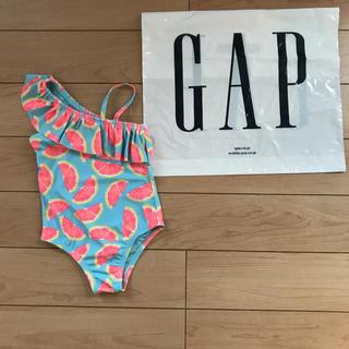 babyGAP - 新品★ 80cm gap 水着 グレープフルーツ ワンピース