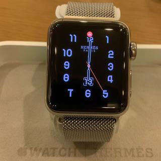 エルメス(Hermes)の(正規品) Apple Watch エルメス series3 セルラー 38mm(腕時計(デジタル))