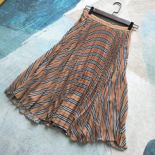 BURBERRY - BURBERRY★タータンチェック プリーツスカート