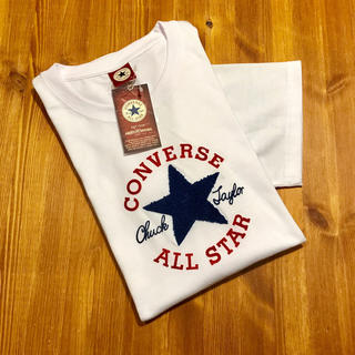 CONVERSE - 新品☆ 送料無料 コンバース スター ロゴ 半袖 Tシャツ 白 CONVERSE