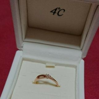 4℃ - 4℃  リング  ダイヤモンド  ダイヤ