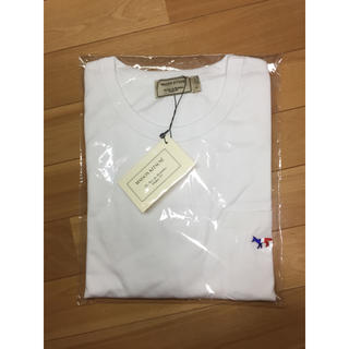 MAISON KITSUNE' - メゾンキツネ Tシャツ XSサイズ ★トリコロールホワイト☆