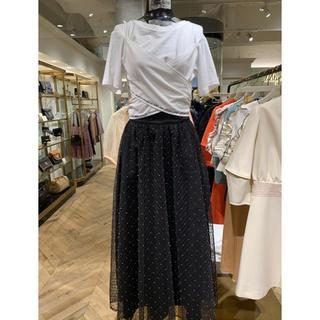 リリーブラウン(Lily Brown)のリリーブラウン   バックリボン  刺繍  Lily Brown(Tシャツ(半袖/袖なし))