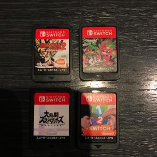 ニンテンドースイッチ(Nintendo Switch)のスイッチソフトまとめ売り(家庭用ゲームソフト)