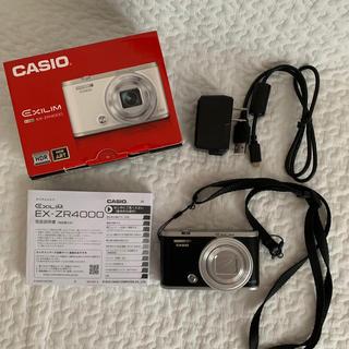 CASIO デジタルカメラ EXILIM EX-ZR4000 BK