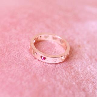 指輪 リング ハート maron de bijou 10号(リング(指輪))