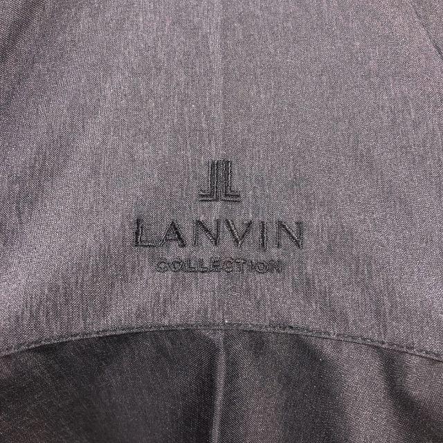 LANVIN COLLECTION(ランバンコレクション)のほぼ未使用 ランバン LANVIN 日傘 晴雨兼用 黒 レディースのファッション小物(傘)の商品写真