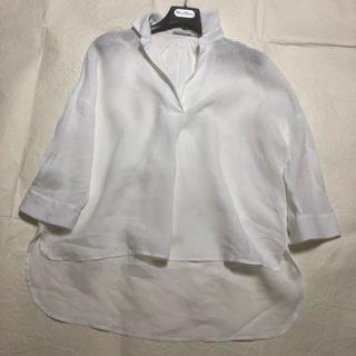 バルバ(BARBA)の爽やかリネンのシャツ38(シャツ/ブラウス(長袖/七分))