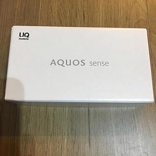 アクオス(AQUOS)のAQUOS sense(スマートフォン本体)