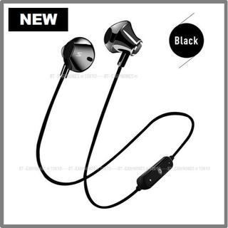 ★ブラック マグネット付き Bluetooth ワイヤレス イヤホン