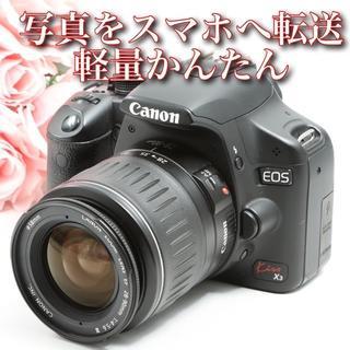 Canon - ★写真をスマホへ転送★軽量でコンパクト★初心者に!キャノンEOS kiss X3