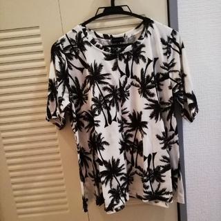 ヤシの木Tシャツ Mサイズ 美品(Tシャツ(半袖/袖なし))