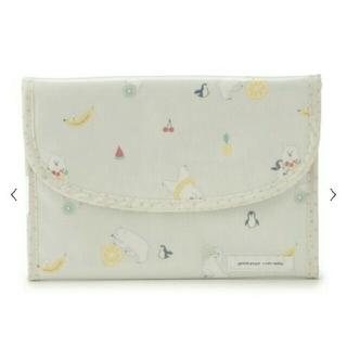 gelato pique - 新品☆ジェラート・ピケ しろくまフルーツ柄 母子手帳 ジャバラケース