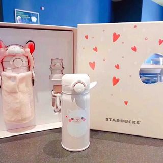 スターバックスコーヒー(Starbucks Coffee)のゆずりんご¨̮❁様専用 スタバ サーモス アルパカ 魚鱗 ステンレス タンブラー(水筒)