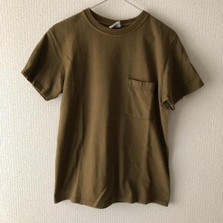 URBAN RESEARCH - Goodwear グッドウエア ヘビーウエイト ポケットTシャツ カーキ