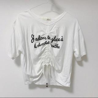 リリーブラウン(Lily Brown)のlily brown Tシャツ(Tシャツ(半袖/袖なし))