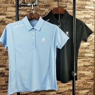 MARK&LONA - MARK&LONA レデイース 多サイズ 柔らかい 運動 ポロシャツ