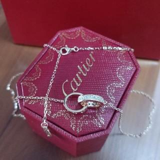 カルティエ(Cartier)の超美品カルティエ Cartier ネックレス レディース ファッション コーデ(ネックレス)