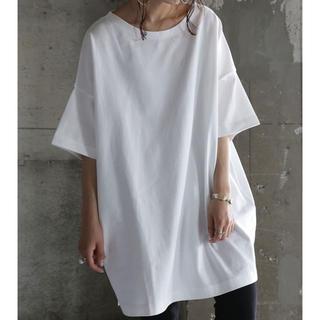 アンティカ(antiqua)の大人気!antiqua バスクTシャツ ホワイト サイズL(Tシャツ(半袖/袖なし))