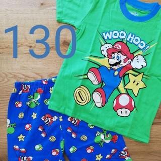 パジャマ 半袖 マリオ 130