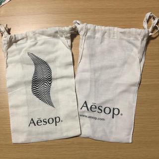 イソップ(Aesop)のきゃりこ様専用 Aesop 巾着 小 2枚セット(ショップ袋)