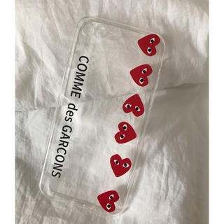 COMME des GARCONS - ギャルソン ❤︎ iphoneケース 7/8 シンプル ハート クリア