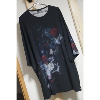 ラッドミュージシャン(LAD MUSICIAN)のLAD MUSICIAN スーパービッグT 花柄(Tシャツ/カットソー(半袖/袖なし))