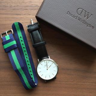 ダニエルウェリントン(Daniel Wellington)のDaniel Wellington 腕時計 40mm シルバー(腕時計(アナログ))