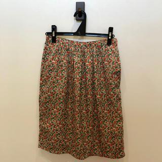 ディーホリック(dholic)のDHOLIC 膝丈 スカート 花柄(ひざ丈スカート)
