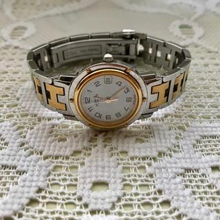 エルメス(Hermes)のエルメス★レディース★腕時計★クリッパー★ジャンク(腕時計)