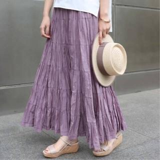 ノーブル(Noble)のNOBLE 【MARIHA】草原の虹のスカート(ロングスカート)