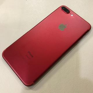 iPhone - 【SIMフリー】Softbank iPhone7 Plus 128GB レッド