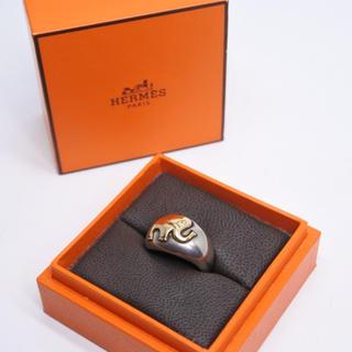 エルメス(Hermes)のHERMES エルメス ヴィンテージ リング 15号 象 エレファント コンビ (リング(指輪))