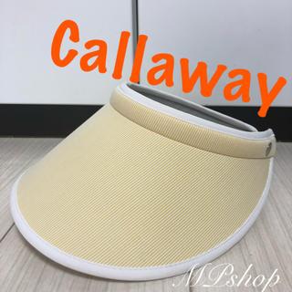 Callaway - 美品♡ Callaway キャロウェイ サンバイザー  ゴルフ