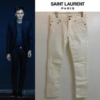 サンローラン(Saint Laurent)のSAINT LAURENT PARIS 2012AW スキニーデニムパンツ 24(デニム/ジーンズ)